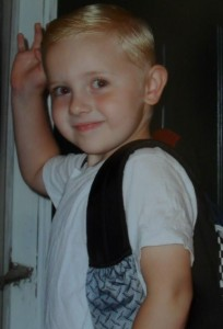 Ty's First Day Of School